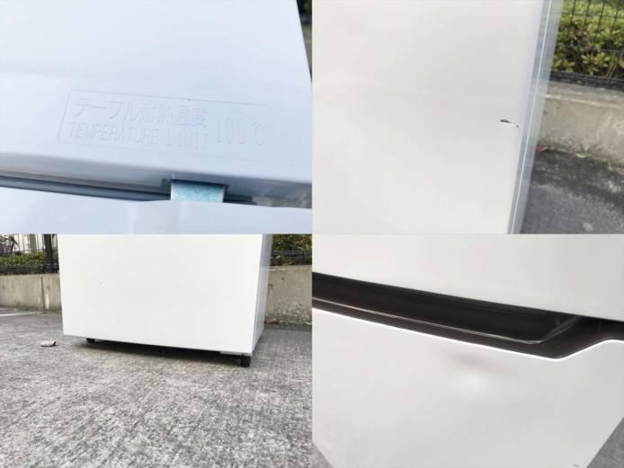 ハイセンス2ドア冷蔵庫高年式シンプルデザイン詳細画像4