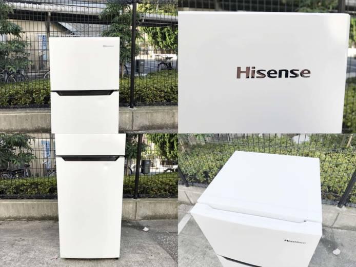 ハイセンス2ドア冷蔵庫高年式シンプルデザイン詳細画像5
