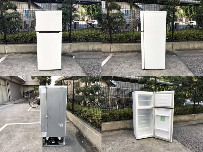 ハイセンス2ドア冷蔵庫高年式シンプルデザイン詳細画像6