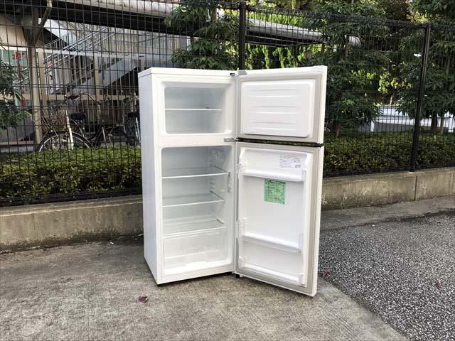 2ドア冷蔵庫高年式シンプルデザイン
