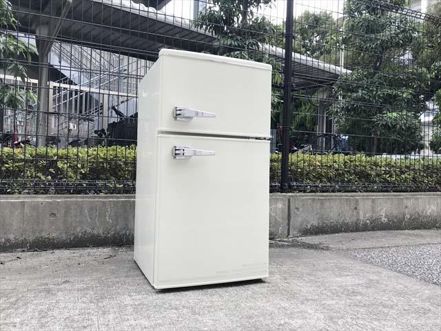 エーステージレトロ2ドア冷蔵庫アメリカンスタイル