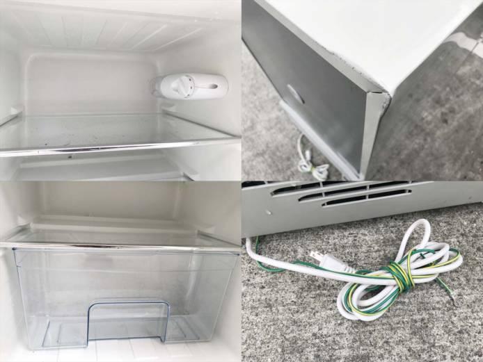 エーステージレトロ2ドア冷蔵庫アメリカンスタイル詳細画像2