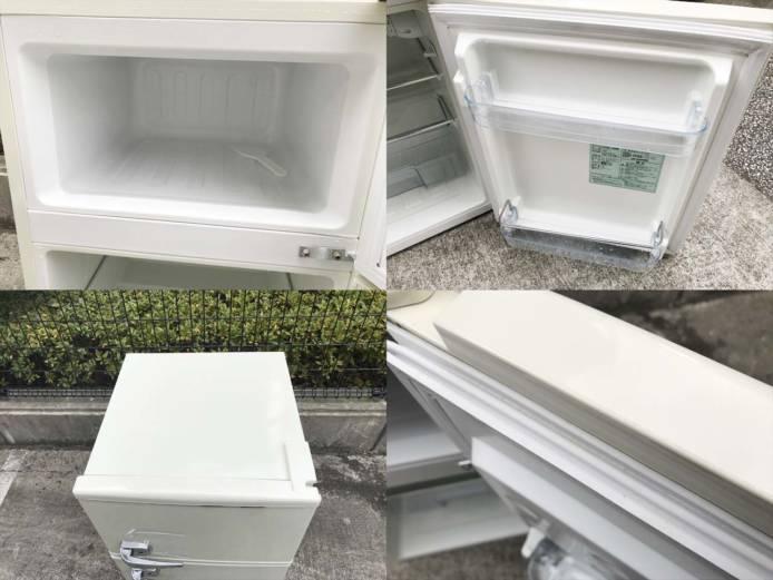 エーステージレトロ2ドア冷蔵庫アメリカンスタイル詳細画像4