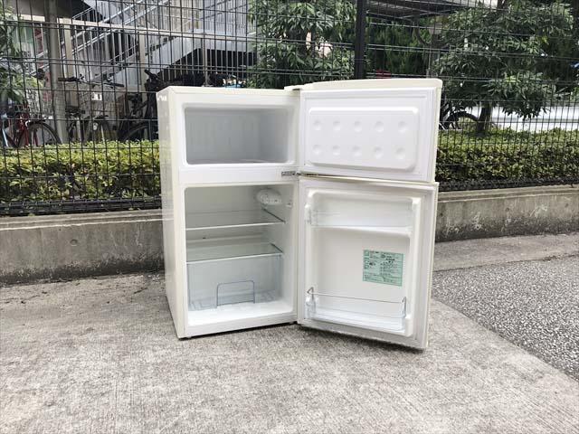 レトロ2ドア冷蔵庫アメリカンスタイル