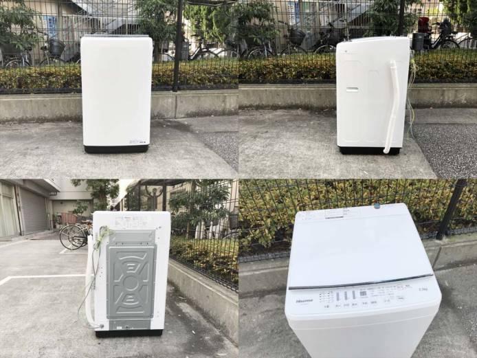 ハイセンス洗濯機最新型5.5キロまとめてラクラク詳細画像3