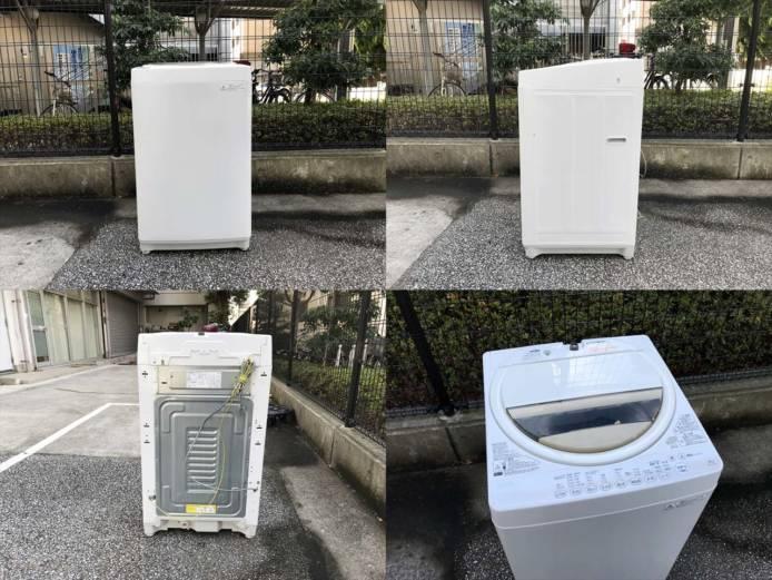 東芝6キロ洗濯機スタークリスタルドラム詳細画像5
