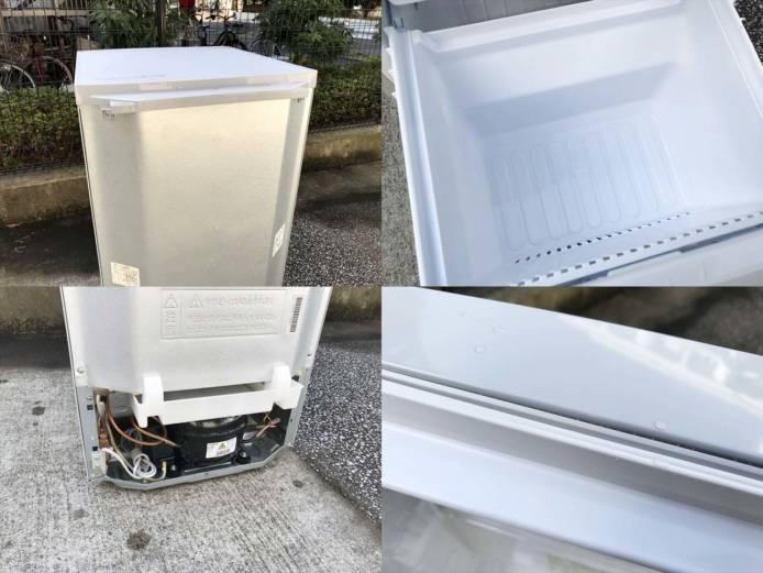 シャープ冷蔵庫2ドアつけかえどっちでもドア詳細画像1