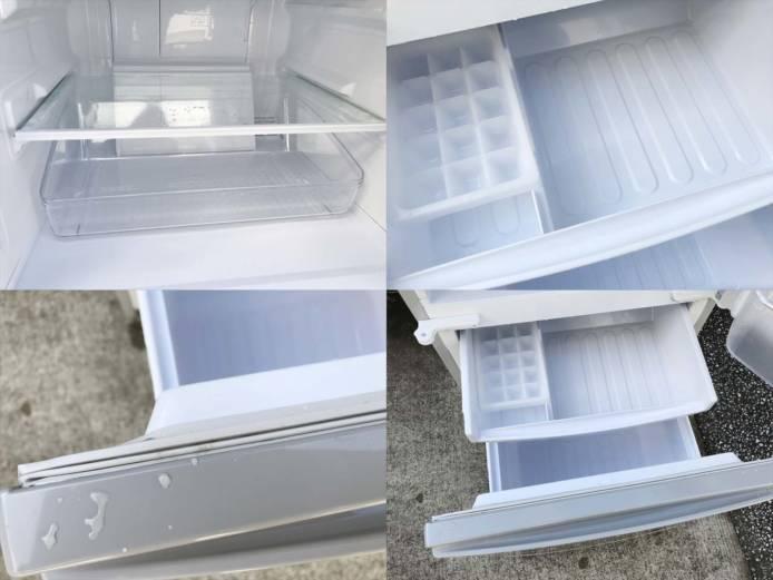 シャープ冷蔵庫2ドアつけかえどっちでもドア詳細画像2