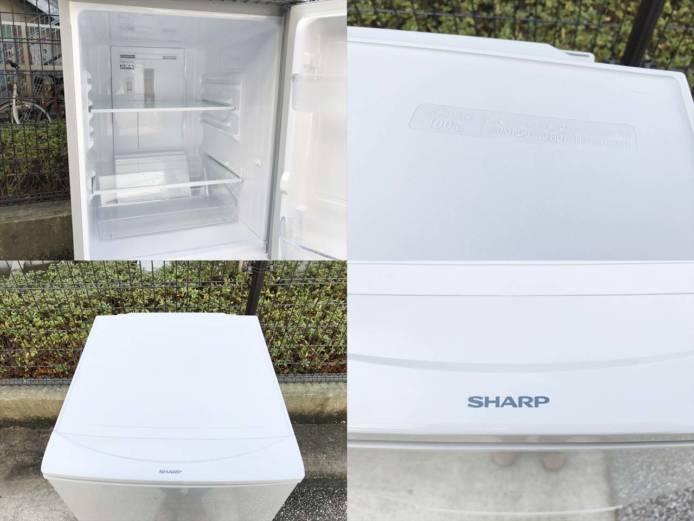 シャープ冷蔵庫2ドアつけかえどっちでもドア詳細画像4
