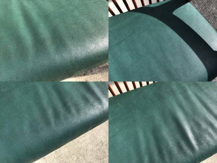 BC工房長椅子ソファチーク材フレーム詳細画像4