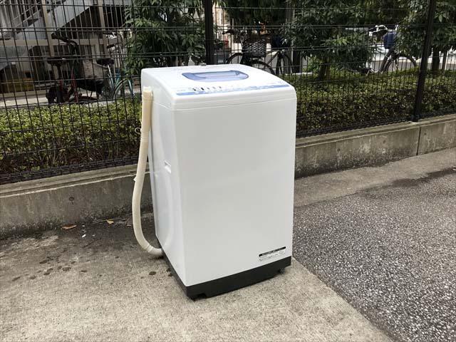 日立7キロ洗濯機白い約束2018年製