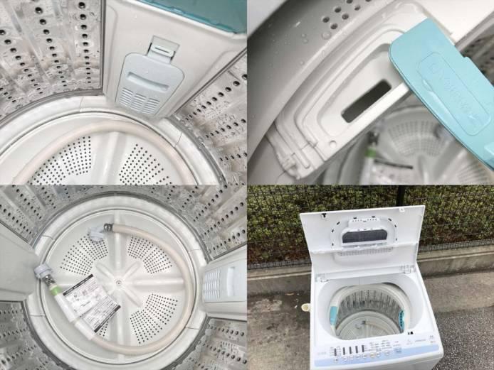 日立7キロ洗濯機白い約束2018年製詳細画像2