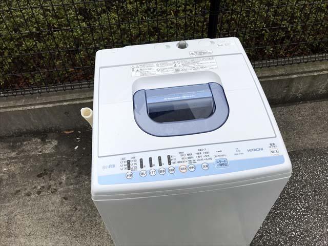 7キロ洗濯機白い約束2018年製