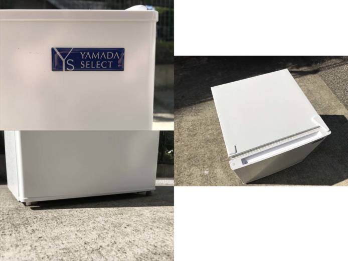 ヤマダ電機1ドア冷蔵庫オリジナルブランド2019年製詳細画像3