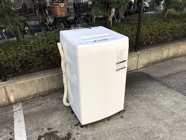 東芝洗濯機4.5キロザブーン分解清掃済み