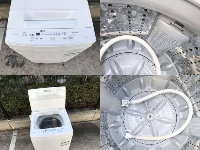 東芝洗濯機4.5キロザブーン分解清掃済み詳細画像2