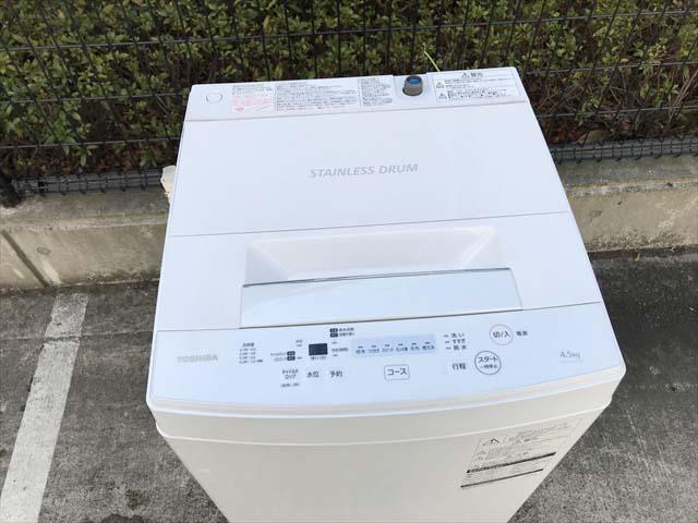 洗濯機4.5キロザブーン分解清掃済み