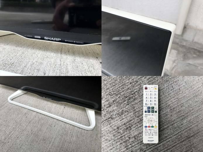 シャープテレビ40インチ液晶フルハイビジョン詳細画像2