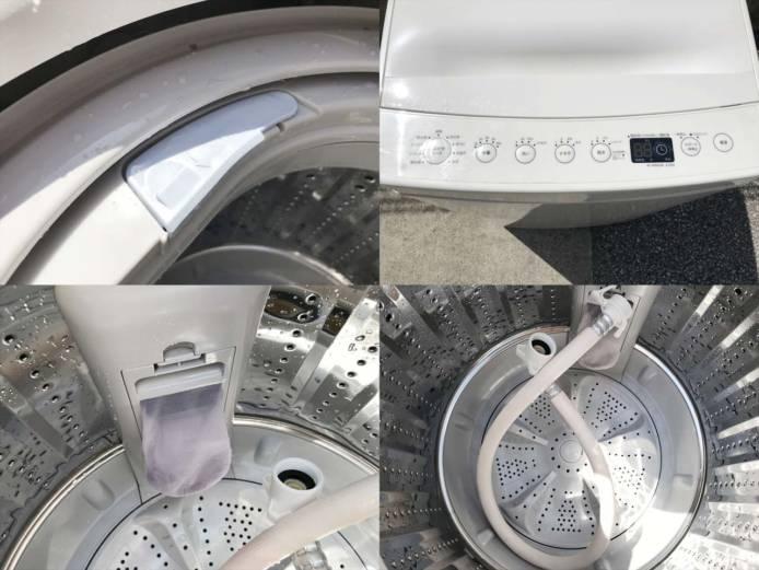タグレーベルアマダナ洗濯機4.5ビックカメラ詳細画像2