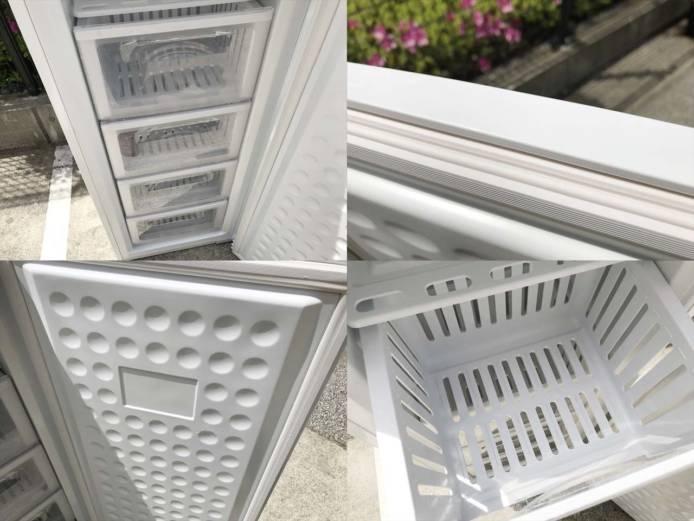 アレジア冷凍庫1ドアパーソナルストッカー詳細画像2