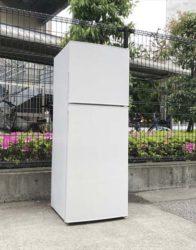 マクスゼン2ドア冷蔵庫スタイリッシュデザイン