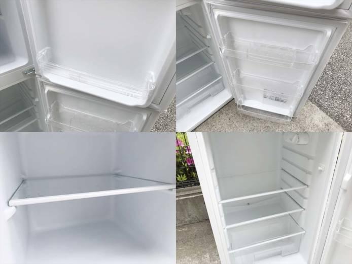 マクスゼン2ドア冷蔵庫スタイリッシュデザイン詳細画像3