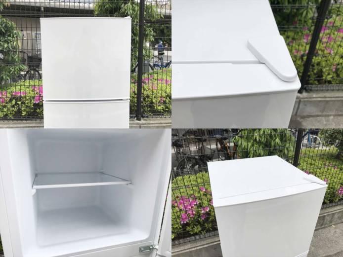 マクスゼン2ドア冷蔵庫スタイリッシュデザイン詳細画像4