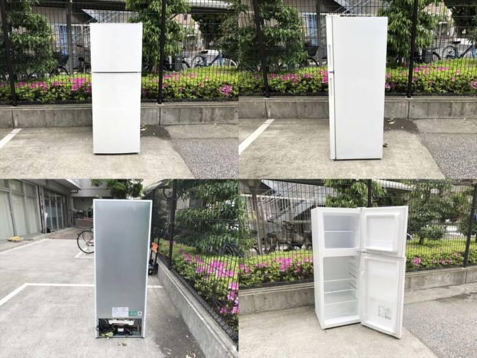 マクスゼン2ドア冷蔵庫スタイリッシュデザイン詳細画像5