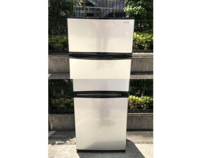 エーステージ2ドア冷蔵庫エスキュービズム90L詳細画像4