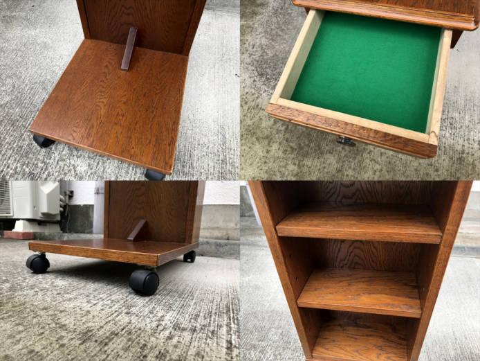 三越ブルージュサイドテーブルワゴンカウントリーハウス詳細画像1