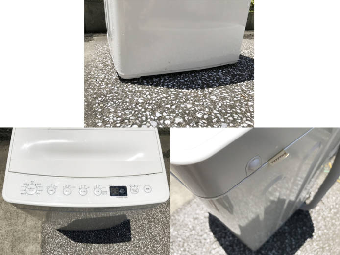 ハイアール洗濯機2018年製タグレーベル4.5キロ詳細画像3