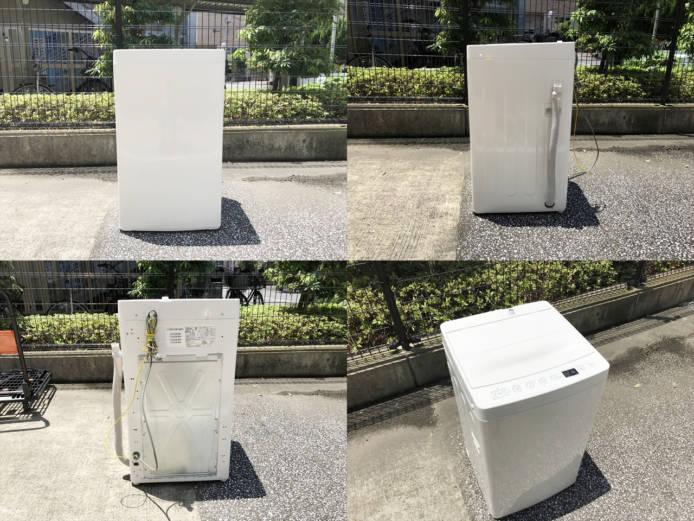 ハイアール洗濯機2018年製タグレーベル4.5キロ詳細画像4