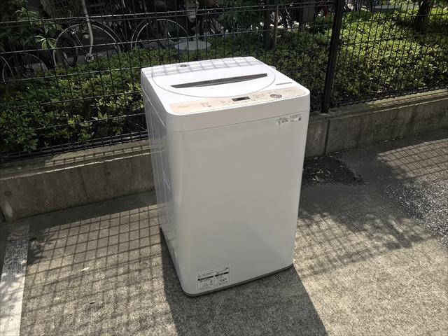 シャープ洗濯機6キロ容量黒カビブロック槽