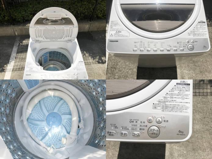 東芝洗濯機グランホワイト6キロ2019年製詳細画像2