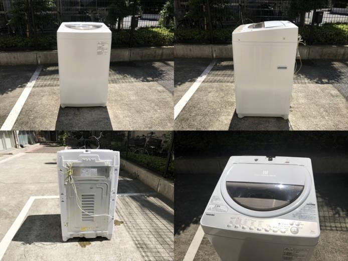 東芝洗濯機グランホワイト6キロ2019年製詳細画像3