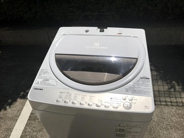 洗濯機グランホワイト6キロ2020年製