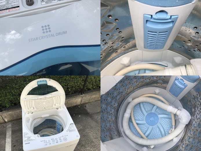 東芝洗濯機スタークリスタルドラム2017年製詳細画像2