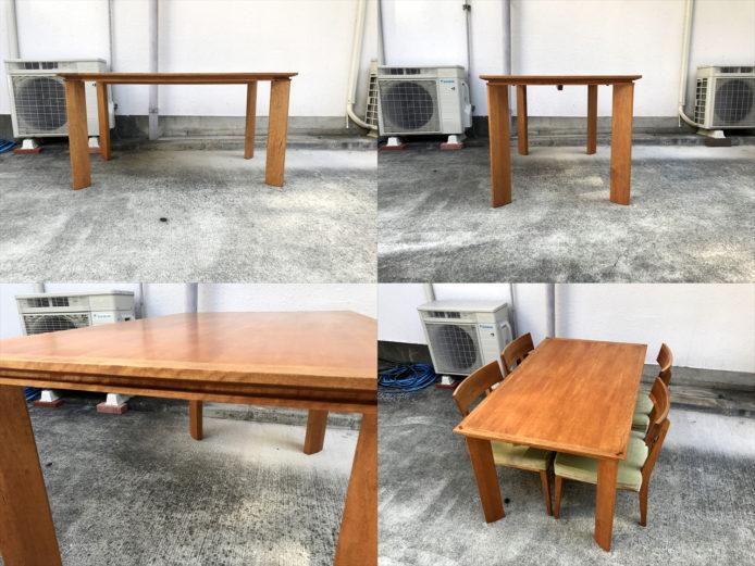 ボスコダイニングテーブルチェアセット4人用詳細画像4